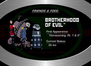 13. The Brotherhood of Evil