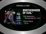 13. The Brotherhood of Evil