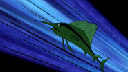 Beast Boy as Sailfish