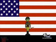Revolution - BB as Patton