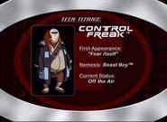 8. Control Freak
