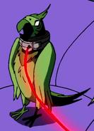 Beast Boy as Parrot