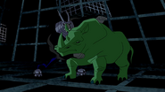 Beast Boy as Rhinoceros