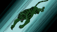 Beast Boy as Tiger