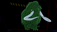 Beast Boy as Wooly Mammoth