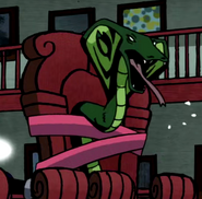 Beast Boy as Cobra