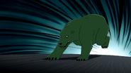 Beast Boy as Polar Bear