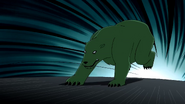 Beast Boy as Polar Bear