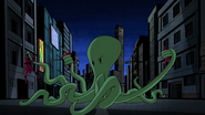 Beast Boy as Octopus