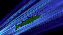 Beast Boy as Barracuda
