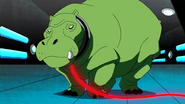 Beast Boy as Hippopotamus