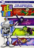 The Complete Second Season DVD Cover