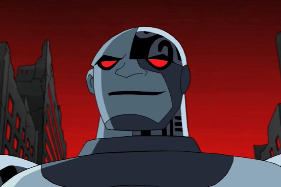 Nega Cyborg | Teen Titans Wiki | FANDOM powered by Wikia