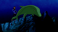 Beast Boy as Dolphin