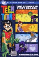The Complete First Season DVD Cover