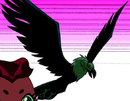 Beast Boy as Vulture