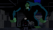 Beast Boy as Sasquatch