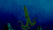Beast Boy as Squid