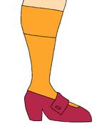 Velma Dinkley's Shoe 2