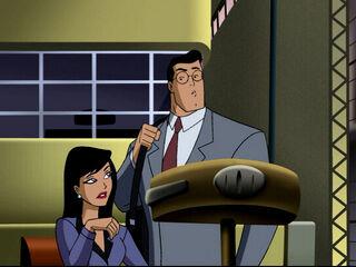 Clark and Lois (Brainiac Attacks)