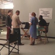 Teen Wolf Season 3 Behind the Scenes Shantal Rhodes on set 311