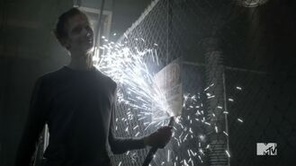 Teen Wolf Season 3 Episode 15 Galvanize Doug Jones William Barrow Barrow about to Kill Kira