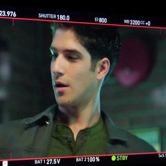 Teen Wolf Behind the Scenes Posey Monitor