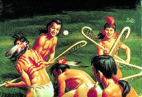 Lacrosse-amérindien