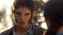 Scott shows Kira werewolf form