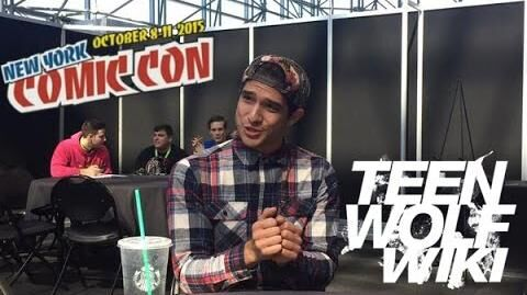 Teen Wolf Wikia Tyler Posey Interview NYCC