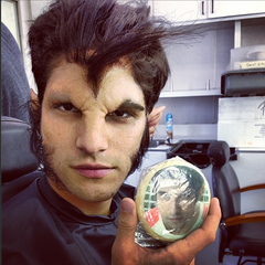 Teen Wolf Behind the Scenes Scott Werewolf Makeup STEREK cookie