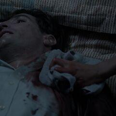 Le père de Scott Gravement blessé par un Oni.