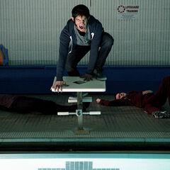 Scott vient sauver Stiles et Derek