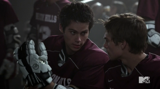 Teen Wolf Season 4 Episode 11 A Promise to the Dead Stiles pep talk