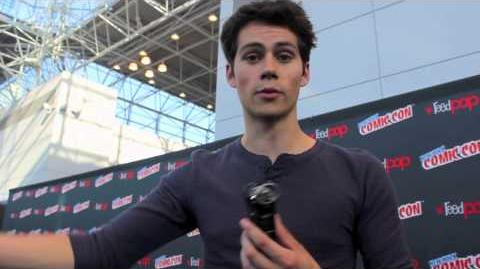 Dylan O'Brien Interview for Teen Wolf (NYCC 13')