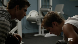 Teen Wolf Season 4 Episode 11 A Promise to the Dead Scott and Liam