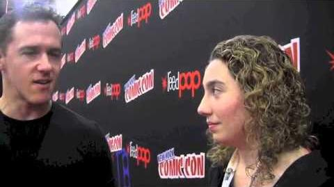 Comic Uno New York Comic Con 2012 Interview with Jeff Davis of Teen Wolf