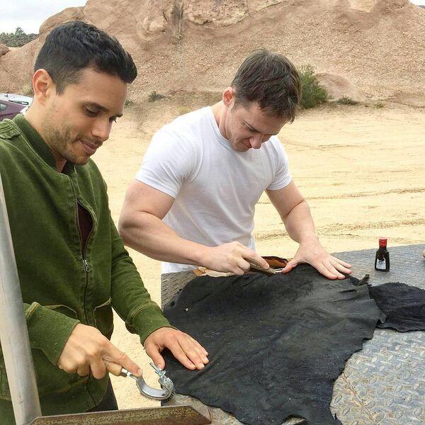 Teen Wolf Season 5 Behind the Scenes Daniel Flores Jeff Davis wardrobe work Vasquez Rocks 091615