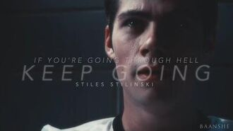 ● Stiles Stilinski Keep Going
