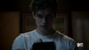 Teen Wolf Season 2 Episode 6 Motel California Daniel Sharman Isaac watches static
