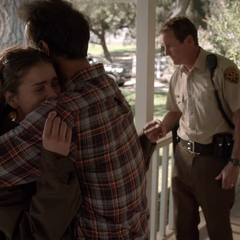 Malia Reunited with Mr. Tate, Her Adoptive Father