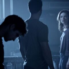 Allison arguing with Derek
