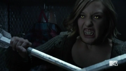 Teen Wolf Season 5 Episode 17 A Credible Threat Werewolf eyes
