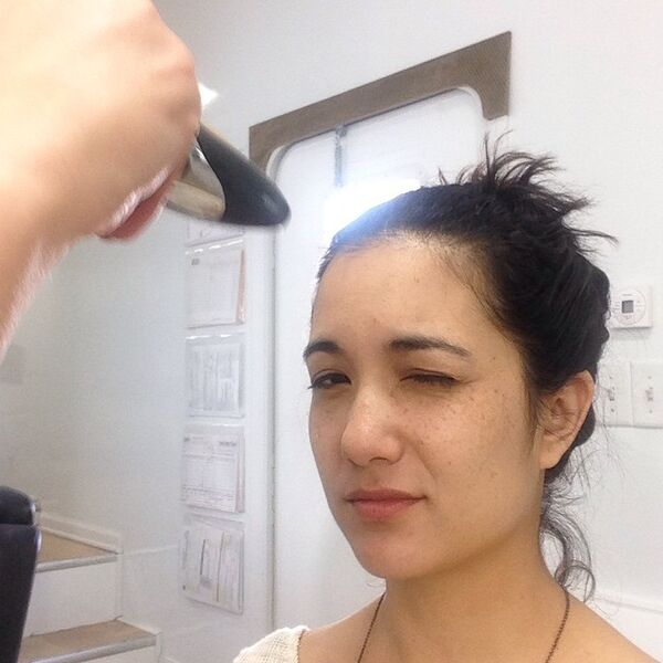 Teen Wolf Season 5 Behind the Scenes Benita Robledo makeup