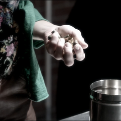 Flashback: Lydia utilise son pouvoir de Banshee pour retrouver Derek.