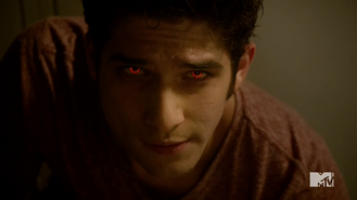 Teen Wolf Season 4 Episode 7 Weaponized Scott can't control his eyes