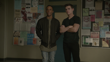 Khylin-Rhambo-Michael-Johnston-Mason-Corey-standing-Teen-Wolf-Season-6-Episode-14-Face-to-Faceless
