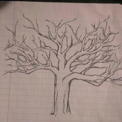 Le Nemeton dessiné par Lydia