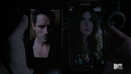 Teen Wolf Season 3 Episode 19 Letharia Vulpina Peter Hale and Malia Tate Father Daughter