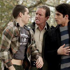 Sheriff catches Scott & Stiles